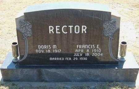 RECTOR, FRANCIS E. - Hamilton County, Kansas | FRANCIS E. RECTOR - Kansas Gravestone Photos