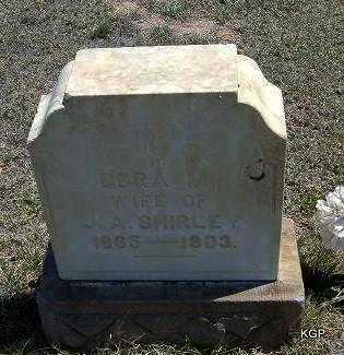 SHIRLEY, DORA M - Hamilton County, Kansas | DORA M SHIRLEY - Kansas Gravestone Photos
