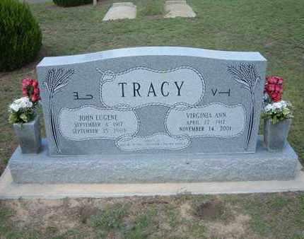 TRACY, JOHN EUGENE, SR. - Hamilton County, Kansas | JOHN EUGENE, SR. TRACY - Kansas Gravestone Photos
