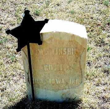 WINSHIP, J W  (VETERAN UNION) - Hamilton County, Kansas | J W  (VETERAN UNION) WINSHIP - Kansas Gravestone Photos