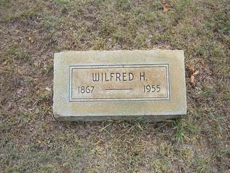 WINSHIP, WILFRED H - Hamilton County, Kansas | WILFRED H WINSHIP - Kansas Gravestone Photos