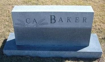 BAKER FAMILY GRAVESTONE,  - Haskell County, Kansas |  BAKER FAMILY GRAVESTONE - Kansas Gravestone Photos