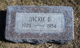 FRENCH, JACKIE D - Haskell County, Kansas | JACKIE D FRENCH - Kansas Gravestone Photos