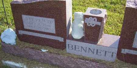 BENNETT, STEVEN DALE - Jackson County, Kansas | STEVEN DALE BENNETT - Kansas Gravestone Photos