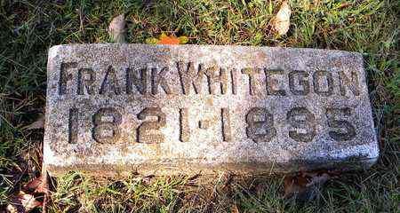 WHITEGON, FRANK - Jefferson County, Kansas   FRANK WHITEGON - Kansas Gravestone Photos