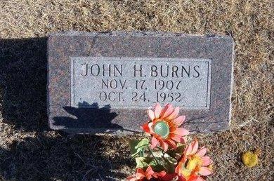 BURNS, JOHN HOWELL - Kearny County, Kansas | JOHN HOWELL BURNS - Kansas Gravestone Photos