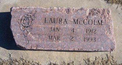 MCCOLM, LAURA - Kearny County, Kansas | LAURA MCCOLM - Kansas Gravestone Photos