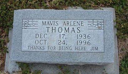 THOMAS, MAVIS ARLENE - Kearny County, Kansas | MAVIS ARLENE THOMAS - Kansas Gravestone Photos