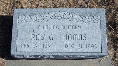 THOMAS, ROY G - Kearny County, Kansas | ROY G THOMAS - Kansas Gravestone Photos