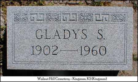 SWART PARMENTER, GLADYS - Kingman County, Kansas   GLADYS SWART PARMENTER - Kansas Gravestone Photos