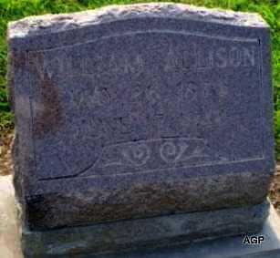 ALLISON, WILLIAM A - Labette County, Kansas | WILLIAM A ALLISON - Kansas Gravestone Photos