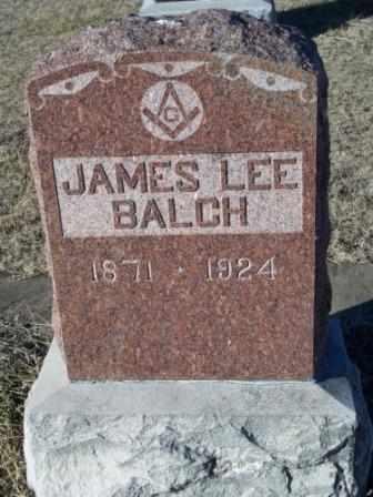 BALCH, JAMES LEE - Labette County, Kansas | JAMES LEE BALCH - Kansas Gravestone Photos