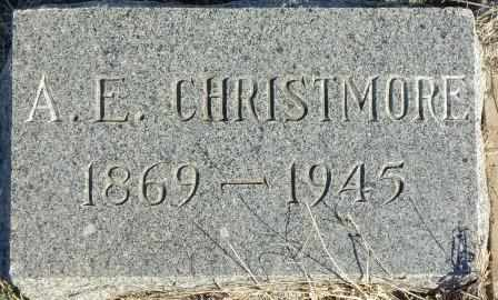 CHRISTMORE, A E - Labette County, Kansas | A E CHRISTMORE - Kansas Gravestone Photos
