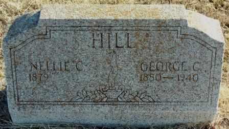 HILL, GEORGE C - Labette County, Kansas | GEORGE C HILL - Kansas Gravestone Photos