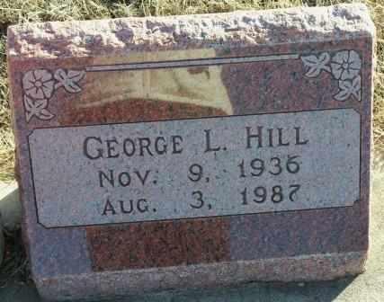 HILL, GEORGE LAVERN - Labette County, Kansas   GEORGE LAVERN HILL - Kansas Gravestone Photos