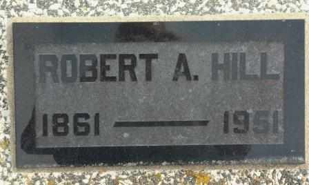 HILL, ROBERT ANDERSON - Labette County, Kansas | ROBERT ANDERSON HILL - Kansas Gravestone Photos