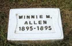 ALLEN, MINNIE MAE - Leavenworth County, Kansas | MINNIE MAE ALLEN - Kansas Gravestone Photos