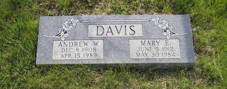 DAVIS, MARY ELIZABETH - Leavenworth County, Kansas | MARY ELIZABETH DAVIS - Kansas Gravestone Photos