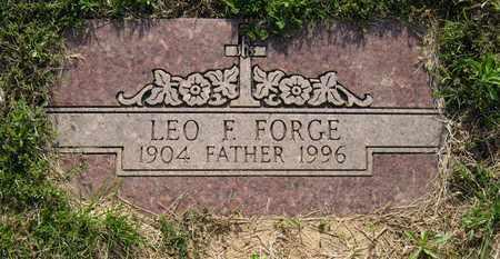 FORGE, LEO F. - Leavenworth County, Kansas | LEO F. FORGE - Kansas Gravestone Photos