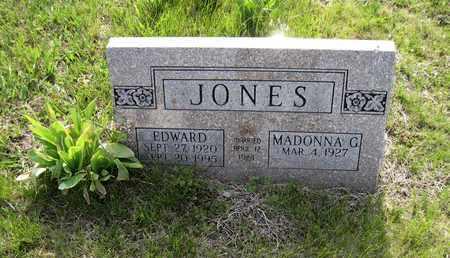 JONES, EDWARD - Leavenworth County, Kansas | EDWARD JONES - Kansas Gravestone Photos