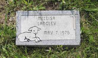 LANGLEY, MELLISA MICHELLE - Leavenworth County, Kansas | MELLISA MICHELLE LANGLEY - Kansas Gravestone Photos