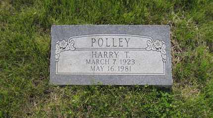 POLLEY, HARRY T. (VETERAN WWII) - Leavenworth County, Kansas   HARRY T. (VETERAN WWII) POLLEY - Kansas Gravestone Photos
