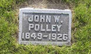 POLLEY, JOHN W. - Leavenworth County, Kansas | JOHN W. POLLEY - Kansas Gravestone Photos