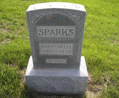 SPARKS, MARY BELLE - Leavenworth County, Kansas | MARY BELLE SPARKS - Kansas Gravestone Photos