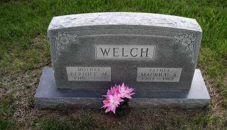 WELCH, MAURICE A. - Leavenworth County, Kansas | MAURICE A. WELCH - Kansas Gravestone Photos