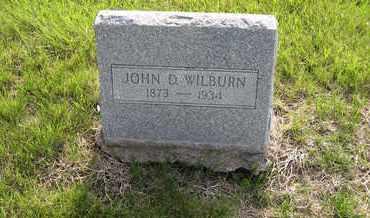 WILBURN, JOHN DAVIS - Leavenworth County, Kansas | JOHN DAVIS WILBURN - Kansas Gravestone Photos