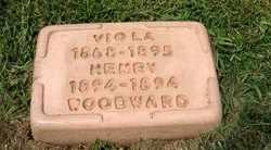 WOODWARD, VIOLA - Leavenworth County, Kansas | VIOLA WOODWARD - Kansas Gravestone Photos