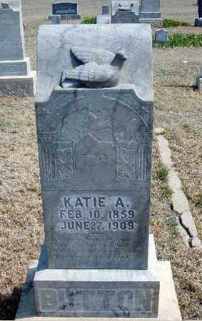 BUTTON, KATIE A - Logan County, Kansas | KATIE A BUTTON - Kansas Gravestone Photos