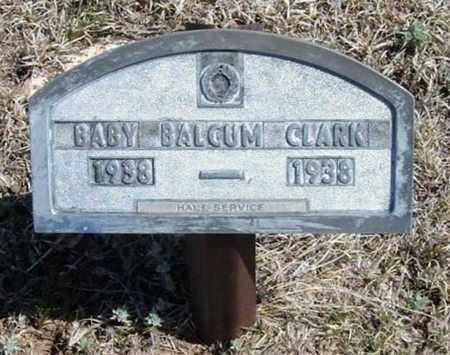 CLARK, BALCUM - Logan County, Kansas | BALCUM CLARK - Kansas Gravestone Photos