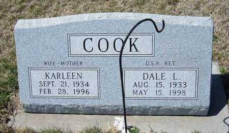COOK, KARLEEN - Logan County, Kansas   KARLEEN COOK - Kansas Gravestone Photos
