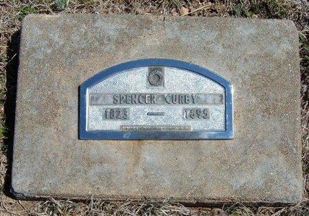 CURBY, SPENCER - Logan County, Kansas | SPENCER CURBY - Kansas Gravestone Photos