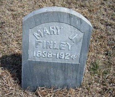FINLEY, MARY J - Logan County, Kansas | MARY J FINLEY - Kansas Gravestone Photos