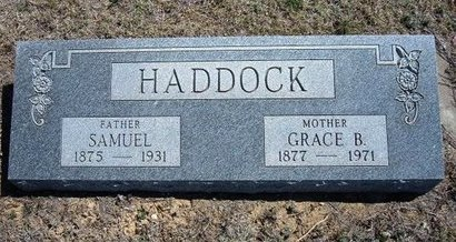 SHELTON HADDOCK, GRACE BELLE - Logan County, Kansas | GRACE BELLE SHELTON HADDOCK - Kansas Gravestone Photos