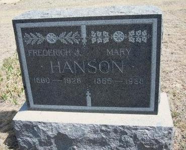 HANSON, MARY - Logan County, Kansas | MARY HANSON - Kansas Gravestone Photos