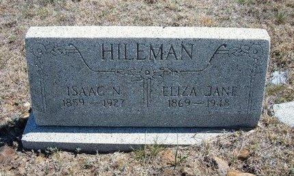 HILEMAN, ISAAC N - Logan County, Kansas   ISAAC N HILEMAN - Kansas Gravestone Photos