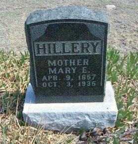 HANKS HILLERY, MARY E - Logan County, Kansas | MARY E HANKS HILLERY - Kansas Gravestone Photos