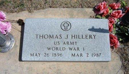 HILLERY, THOMAS J   (VETERAN WWI) - Logan County, Kansas | THOMAS J   (VETERAN WWI) HILLERY - Kansas Gravestone Photos