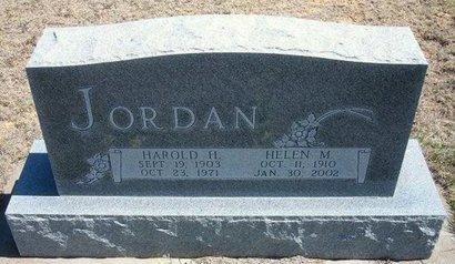 JORDAN, HELEN MARJORY - Logan County, Kansas | HELEN MARJORY JORDAN - Kansas Gravestone Photos