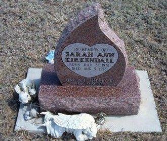 KIRKENDALL, SARAH ANN - Logan County, Kansas | SARAH ANN KIRKENDALL - Kansas Gravestone Photos