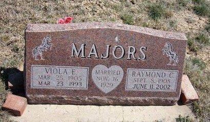 MAJORS, RAYMOND C - Logan County, Kansas | RAYMOND C MAJORS - Kansas Gravestone Photos