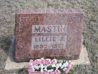 MASTIN, LILLIE R - Logan County, Kansas | LILLIE R MASTIN - Kansas Gravestone Photos