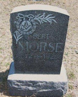 MORSE, BERT - Logan County, Kansas   BERT MORSE - Kansas Gravestone Photos