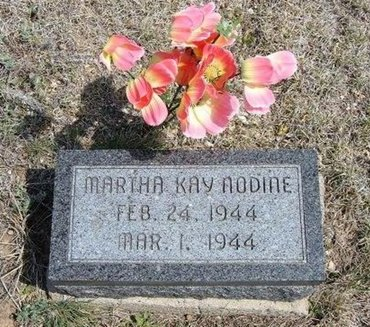 NODINE, MARTHA KAY - Logan County, Kansas | MARTHA KAY NODINE - Kansas Gravestone Photos