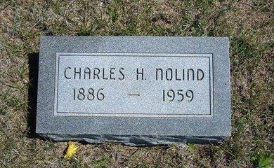 NOLIND, CHARLES H - Logan County, Kansas | CHARLES H NOLIND - Kansas Gravestone Photos