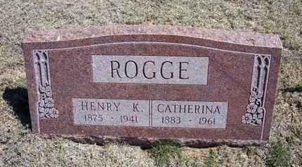 ROGGE, HENRY K - Logan County, Kansas | HENRY K ROGGE - Kansas Gravestone Photos