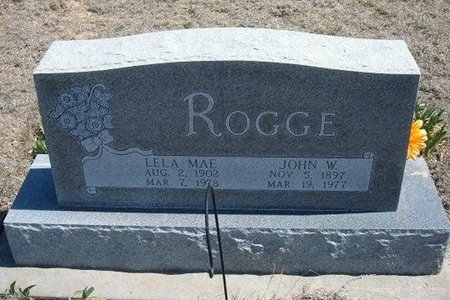 ROGGE, JOHN W - Logan County, Kansas   JOHN W ROGGE - Kansas Gravestone Photos